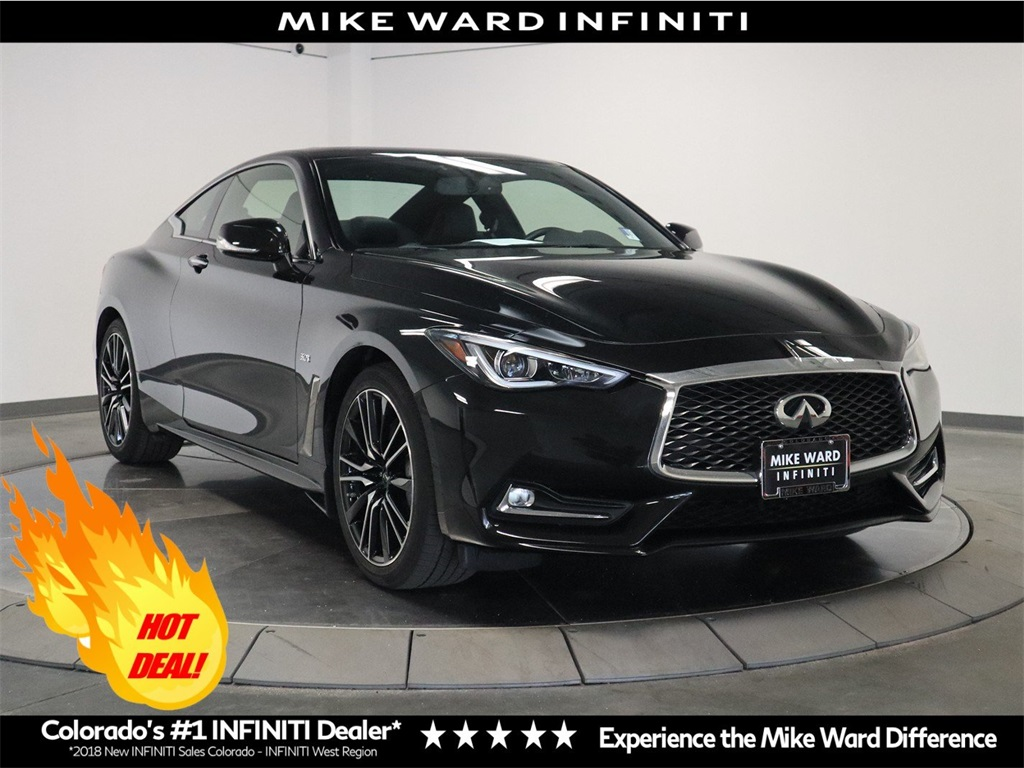 Certified Pre-Owned 2018 INFINITI Q60 Sport