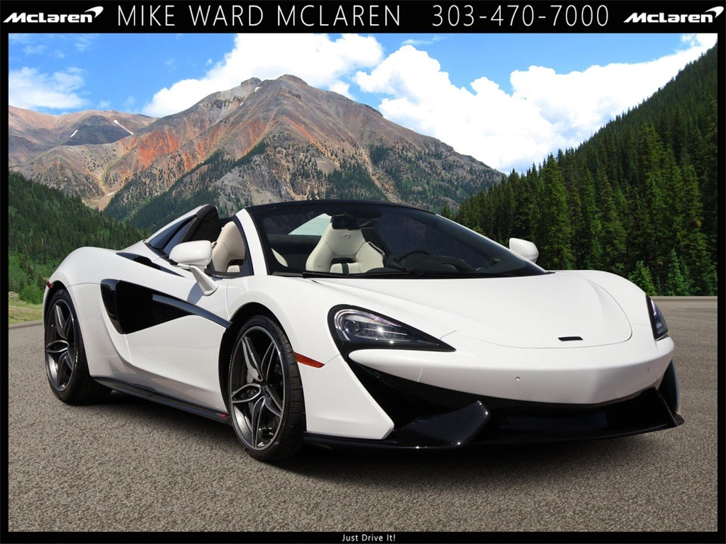 New 2020 McLaren 570S Spider With Navigation