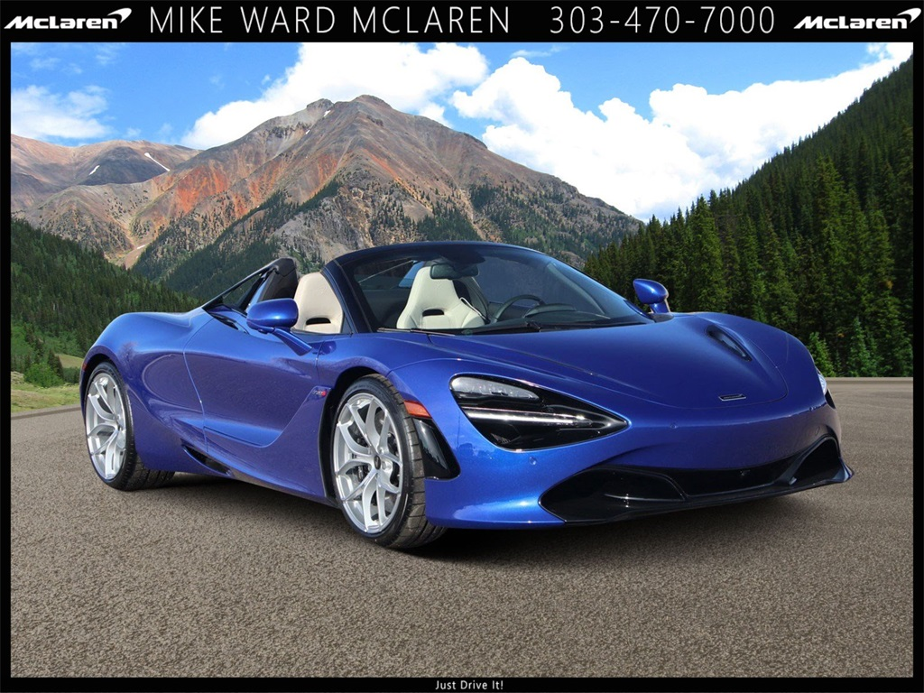 New 2020 McLaren 720S Spider With Navigation