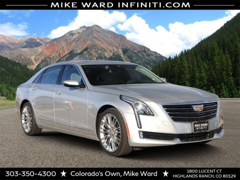 Pre-Owned 2018 Cadillac CT6 3.6L Premium Luxury