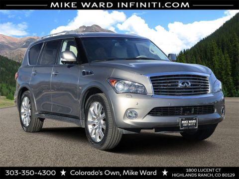 Pre-Owned 2014 INFINITI QX80 AWD