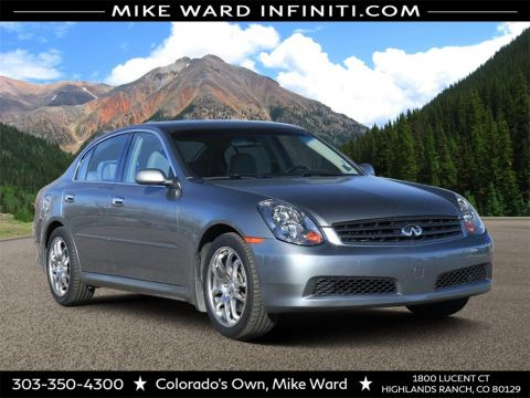 Pre-Owned 2005 INFINITI G35 Sedan