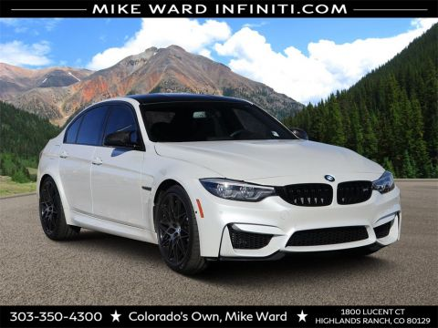 Pre-Owned 2018 BMW M3 Competition Package