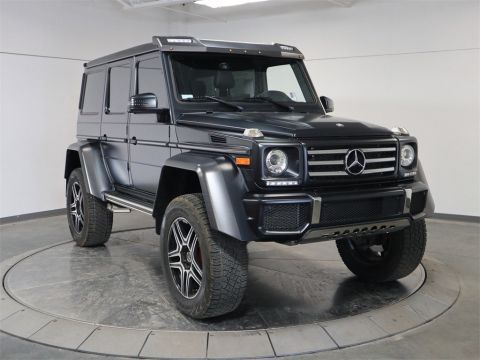 Pre-Owned 2017 Mercedes-Benz G-Class G 550 Squared